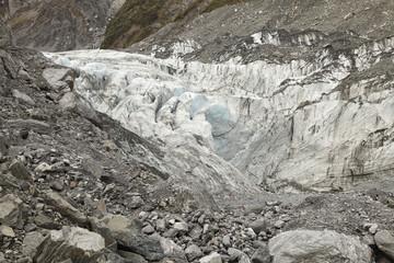 Fox Glacier of New Zealand