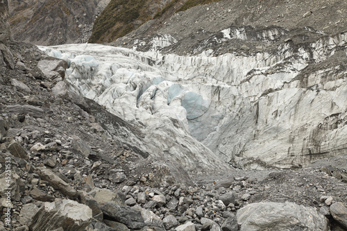 Fox Glacier of New Zealand