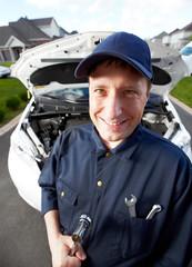 Professional auto mechanic.