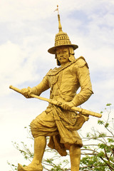 Statue of King Bayintnaung of Burma