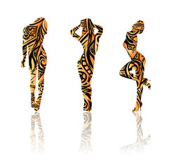 Tatoo tiger girls