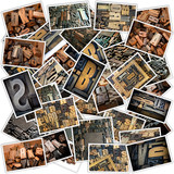 Wood typescript collection poster