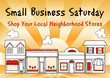 Small Business Saturday, shopping at small, local businesses