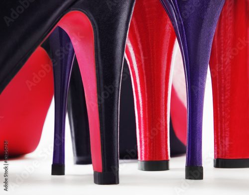 Heels of shoes - 45256758