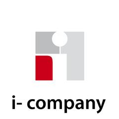 Vector Logo initial letter I