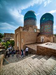 Shah-I-Zinda memorial complex. Samarkand, Uzbekistan.