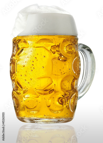 canvas print picture Bierhumpen