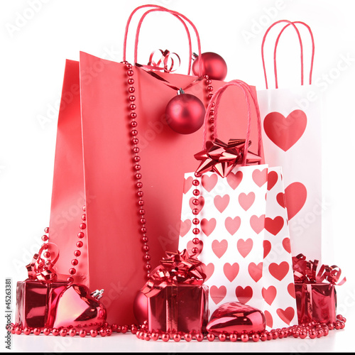 shopping bag and decoration
