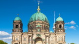 Berliner Dom Timelapse with Cloud Dynamic in Full HD 1080p