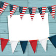 usa bunting decoration