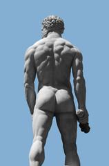 male stone sculpture