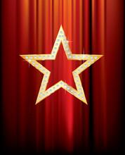 Diamant étoile d'or