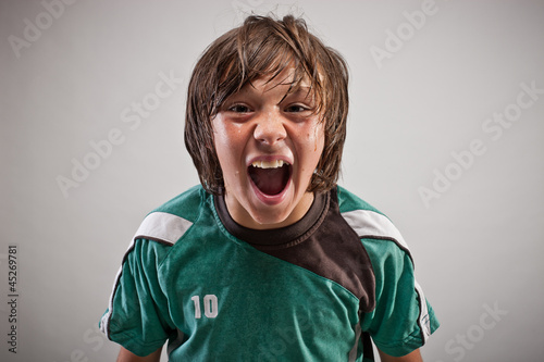 canvas print picture sportlerportrait_fussball_07