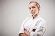canvas print picture - sportlerportrait_karate_01
