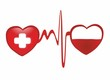 blood transfusion - two hearts