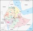 Äthiopien, Administrativ, Verwaltungsgliederung