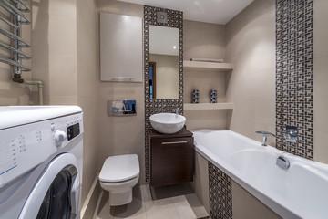 Luxury modern bathroom suite