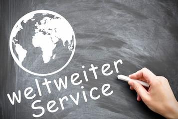 weltweiter Service