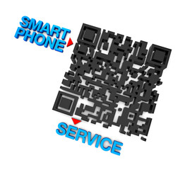 QRcode Smart Phone Service