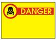 Schild - Achtung giftige Stoffe