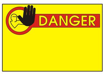 Schild - Zutritt verboten