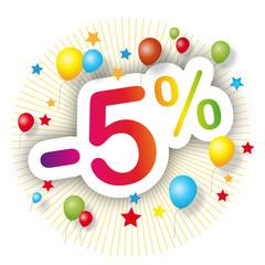 Promotions estivales -5%
