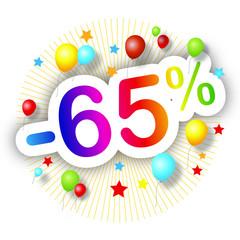 Promotions estivales -65%