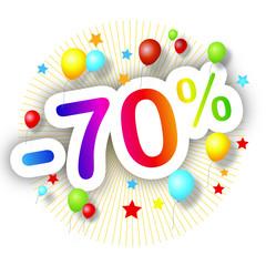 Promotions estivales -70%
