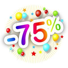 Promotions estivales -75%