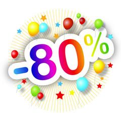 Promotions estivales -80%