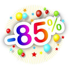 Promotions estivales -85%