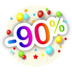 Promotions estivales -90%