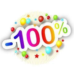 Promotions estivales -100%