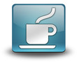 "Light Blue 3D Effect Icon ""Coffee Shop"""