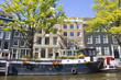 Boat house in Amsterdam