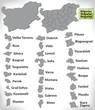 Landkarte von Bulgarien