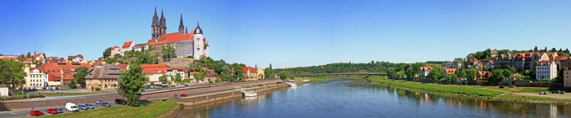 Panorama Meissen an der Elbe