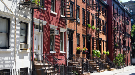 Houses on Gay Street, New York City