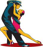 Fototapety Tango dancers