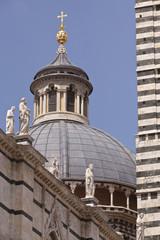 Cúpula de la catedral de Siena, Italia
