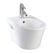 White urinate bowl nice sanitary wear isolates