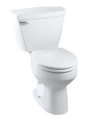 Nice toilet bowl set isolates