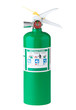 Fire extinguisher isolates