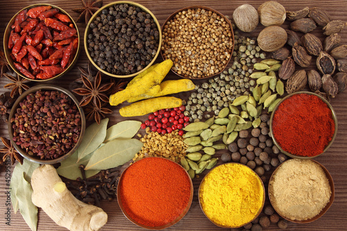 Spices and herbs - 45295589