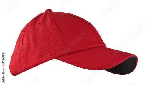Schirmmütze, rot - 45296393