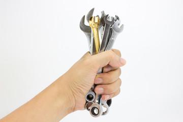 men holding Spanner