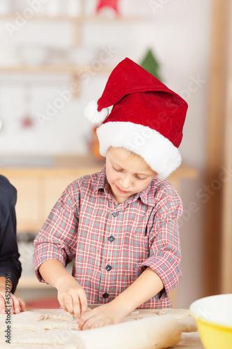 kinder backen für weihnachten