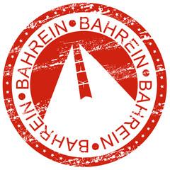 Carimbo - Bahrein
