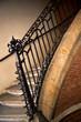 Escalier, maison, intérieur, architecture, rampe, fer forgé