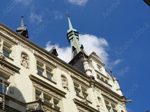 historische Architektur in Prag